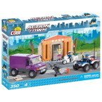 Action Town NAPAD NA BANK klocki COBI 350 el NEW