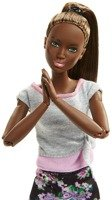 BARBIE LALKA MADE TO MOVE KWIECISTA FIOLET FTG83