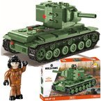 COBI WORLD OF TANKS KLOCKI  595 el.CZOŁG KV-2 KW-2 3039