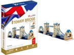 CUBIC FUN PUZZLE 3D MOST TOWER BRIDGE 120 EL.