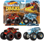HOT WHEELS MONSTER TRUCKS 2 PAK AUTO POJAZDY FYJ67