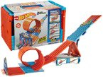HOT WHEELS TRACK BUILDER MEGA TOR 2 AUTA FTH77