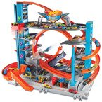 HOT WHEELS ZESTAW MEGA GARAŻ REKINA CITY FTB69