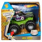 Hot Wheels AUTO MONSTER JAM REV TREDZ GRAVE DIGGER Napęd CHV36
