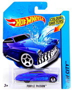 Hot Wheels AutoKOLOROWAŃCE PURPLE PASSION