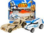 Hot Wheels STAR WARS CLONE TROOPER I BATTLE DROID