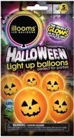 Illooms ŚWIECĄCE BALONY LED HALLOWEEN Tm Toys TV