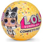 L.O.L. SURPRISE CONFETTI Pop LOL LLALECZKA Seria 3