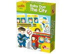 Lisciani KAROTKA Gra EDU BABY DUO THE CITY Puzzle