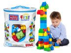 MEGA BLOKS Klocki ECO TORBA 60 el. FISHER PRICE TV