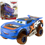 Mattel CARS XRS MUD RACING AUTO BARRY DePEDAL
