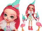 Mattel LALKA Enchantimals FLAMINGOWE FIGLE FCG79