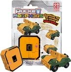 POCKET MORPHERS II FIGURKA NUMER 0 ARMY JEEP 6873