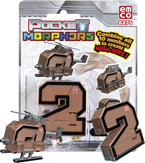 POCKET MORPHERS II FIGURKA NUMER 2 CHOPPER 6875
