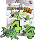 POCKET MORPHERS II FIGURKA NUMER 4 SKYFIGHTER 6877