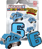 POCKET MORPHERS II FIGURKA NUMER 6 ROCKET FIRE
