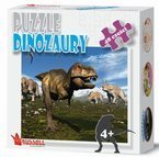 PUZZLE DINOZAURY 48 ELEMENTÓW RUSSELL