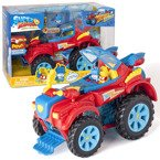 SUPER ZINGS 3 ZESTAW HERO TRUCK MONSTER ROLLER 2 FIGURKI