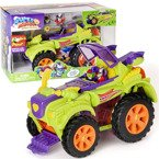 SUPER ZINGS 3 ZESTAW VILLAIN TRUCK MONSTER ROLLER 2 FIGURKI