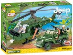 Small Army JEEP WILLYS I HELIKOPTER Klocki COBI