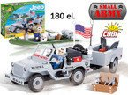 Small Army JEEP WILLYS MB NAVY klocki COBI 180 el.