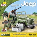 Small Army JEEP WILLYS MB klocki COBI 90 el.+ AKC