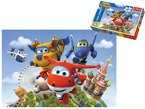 TREFL PUZZLE SUPER WINGS LOT DOOKOŁA ŚWIATA 60 EL.