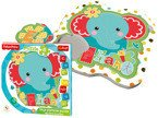 Trefl PUZZLE Fisher Price BABY FUN SŁONIK 8 el.