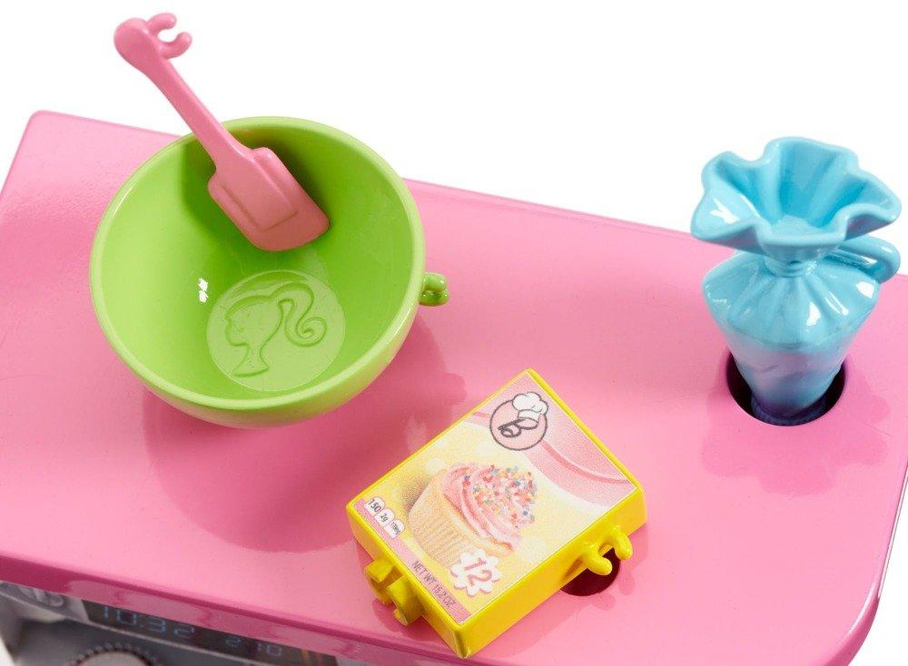 Barbie Zestaw Z Lalka Domowe Wypieki Kuchnia Fhp57 1800235749