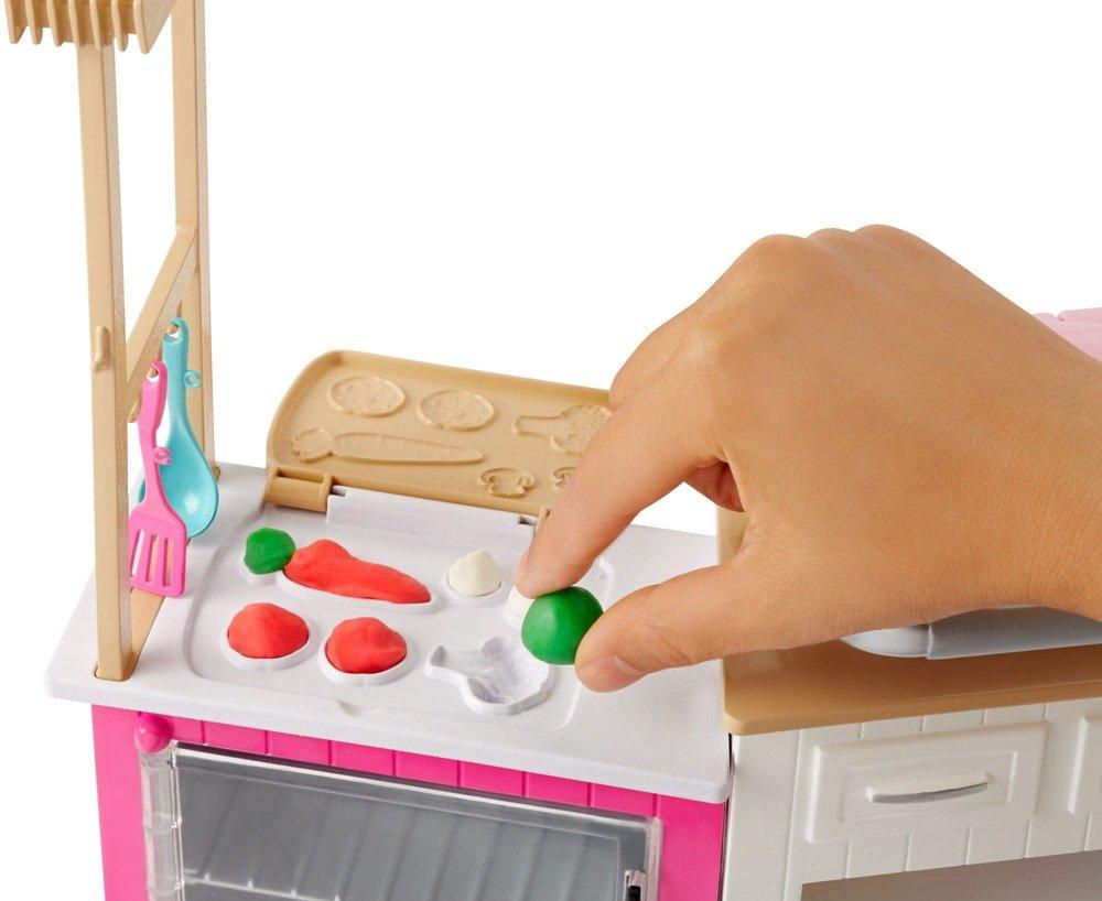 Barbie Zestaw Z Lalką Idealna Kuchnia Dźwięk Frh73