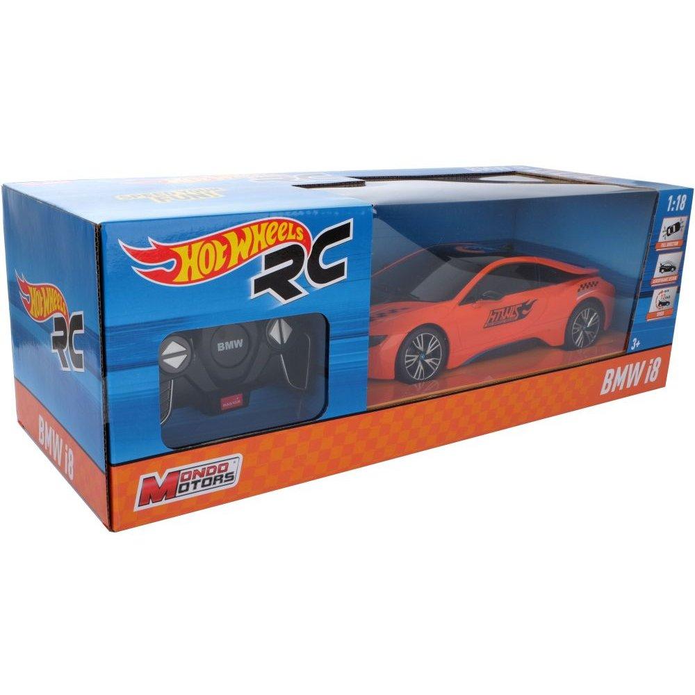 Hot Wheels Bmw I8 Zdalnie Starowany Auto 1 18 New 1800233953 Sklep