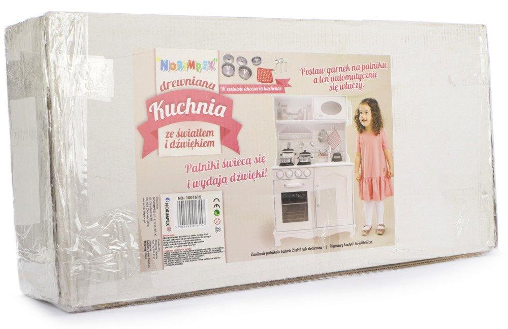Kuchnia Drewniana Dla Dzieci światło Dźwięk Akc 1800236724