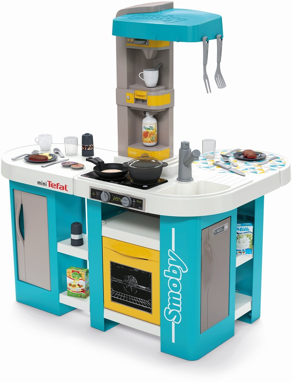 Kuchnia Smoby Tefal Studio Bubble Xl 34 Akcesoria 1800238340 Sklep Internetowy Toysplanet Pl