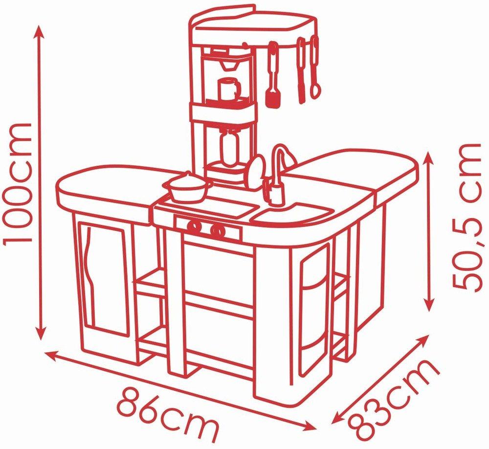 Smoby Kuchnia Dla Dzieci Studio Tefal Bubble Xxl 1800235171 Sklep