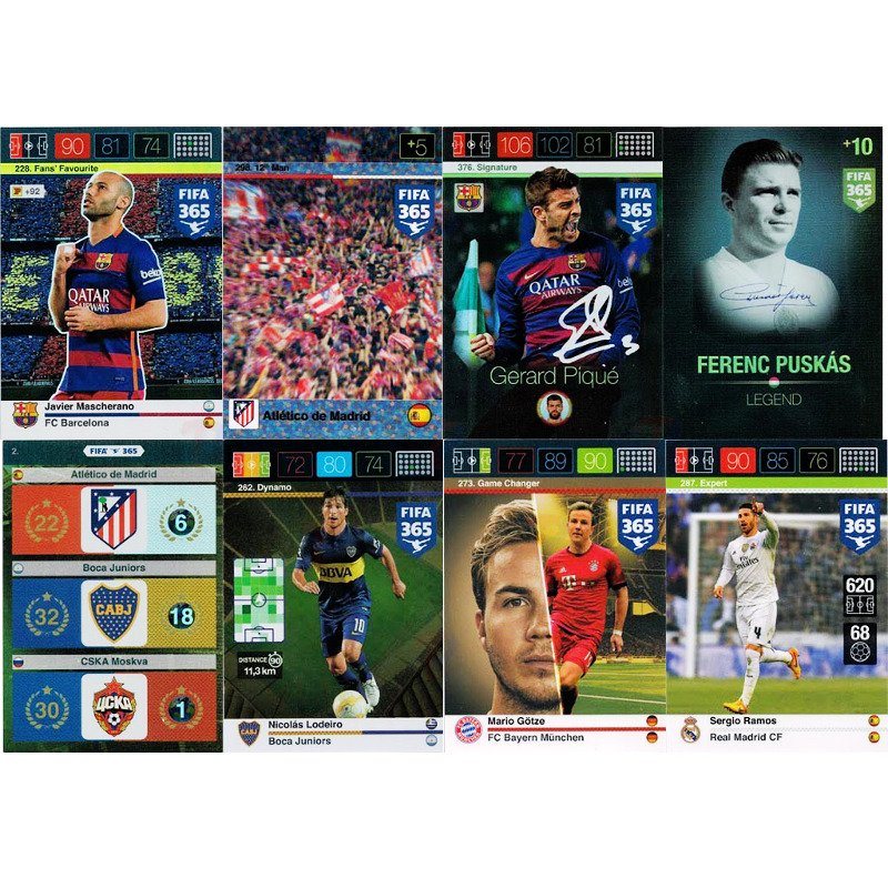 Panini FIFA 365 32 KARTY Adrenalyn XL 2017 TV NEW