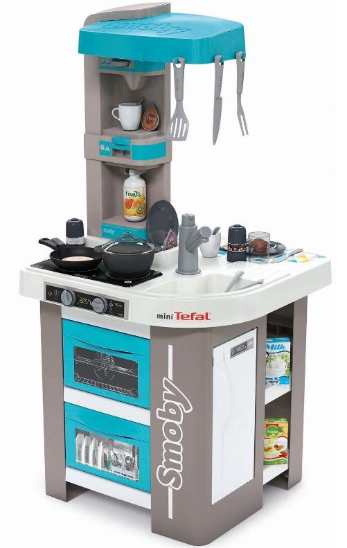 Smoby Duza Kuchnia Mini Studio Bubble 28 Akcesoriow 1800238338 Sklep Internetowy Toysplanet Pl