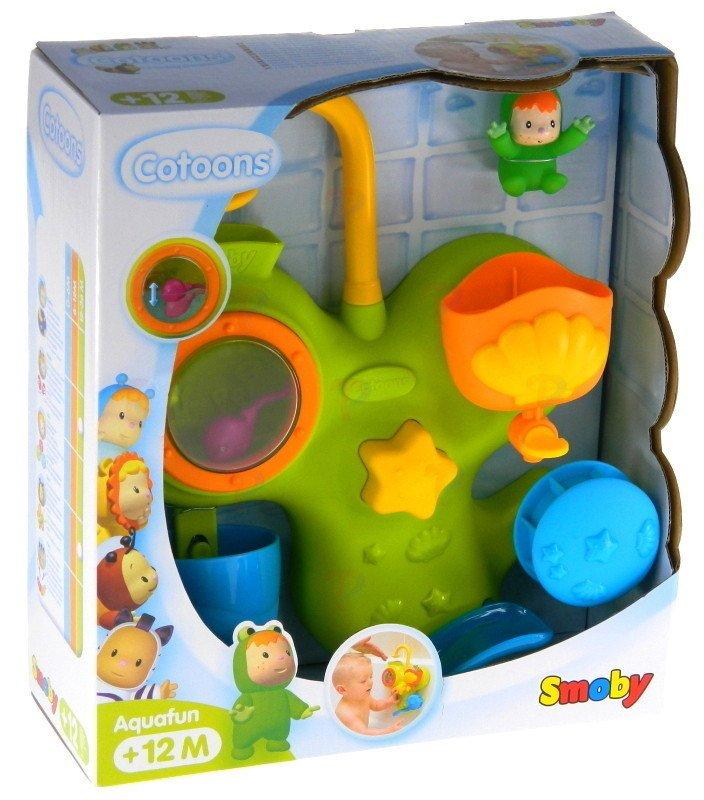 Jouet pour le bain : Aquafun Cotoons Smoby  Magasin de Jouets pour Enfants