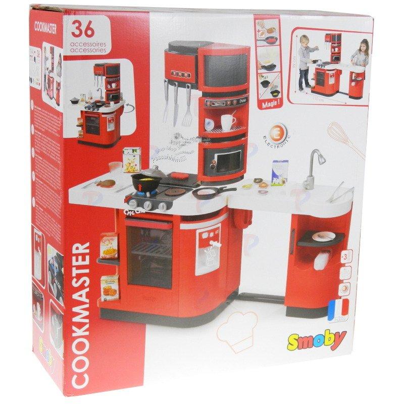 smoby du a elektroniczna kuchnia cook master new 1800220930 sklep internetowy. Black Bedroom Furniture Sets. Home Design Ideas