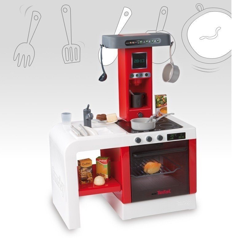 Smoby KUCHNIA mini TEFAL CHEFTRONIC + Skrzydełka 1800213523  sklep interneto   -> Kuchnia Tefal Ceneo