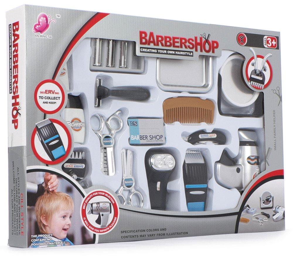 Zestaw Fryzjerski Dla Chłopca Barbershop 16 El 1800236599 Sklep