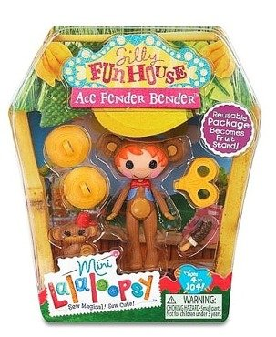 Lalaloopsy Mini Silly Fun House Ace Fender Bender