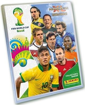 ALBUM na KARTY - WORLD CUP 2014 BRASIL Adrenlyn XL