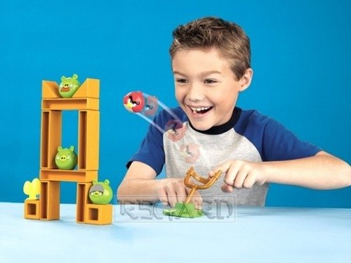 Angry Birds space AKCESORIA do GRY 3-PAK Mattel
