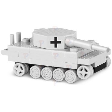 COBI WORLD OF TANKS NANO CZOŁG TIGER I Klocki NEW