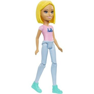 Lalka BARBIE ON THE GO 10 cm Hit Reklama TV FHV73