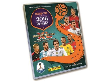 ROAD TO RUSSIA 2018 ALBUM KOLEKCJONERA Panini TV